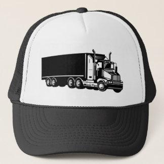 Boné cartão de visita de transporte por caminhão do