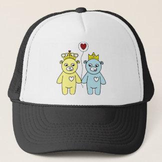Boné casal do urso de ursinho