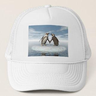 Boné Casal dos pinguins