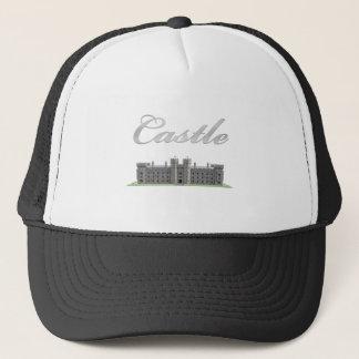 Boné Castelo britânico clássico com texto do castelo