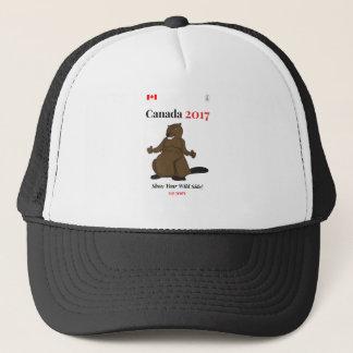 Boné Castor de Canadá 150 em 2017 selvagem