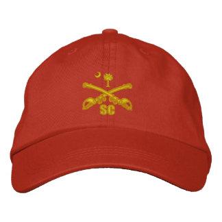 Boné Cavalaria de South Carolina (bordada)