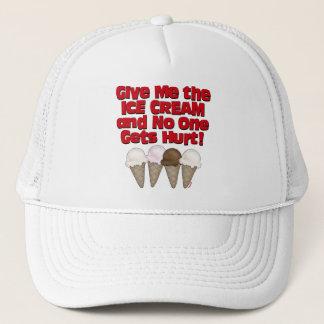Boné Ceda o sorvete