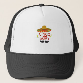 Boné Celebração mexicana bonito do feriado de Cinco de
