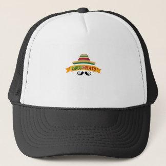 Boné Celebração mexicana do feriado de Cinco de Mayo do