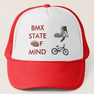 Boné cérebro, bmxer, bicicleta do bmx, BMXSTATEofmind