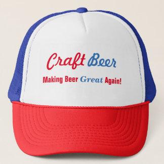 Boné Cerveja do artesanato