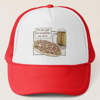 Boné Cerveja & pizza para o chapéu do pequeno almoço