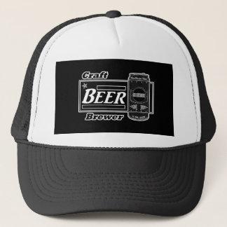 Boné Cervejeiro da cerveja do artesanato - o preto & o