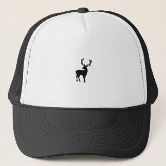 Boné Cervos preto e branco
