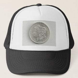 Boné Chapéu 1921 do dólar de prata de Morgan