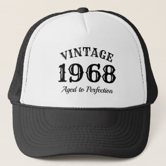 Boné Chapéu 1968 do camionista do vintage para