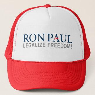 Boné Chapéu 2012 de Ron Paul