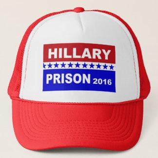 Boné Chapéu 2016 da prisão de Hillary