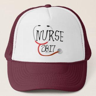 Boné Chapéu 2017 do formando da enfermeira