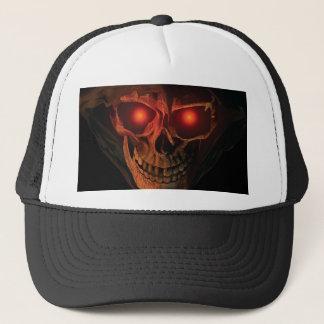 Boné chapéu 3 do camionista da CABEÇA da CEIFEIRA do