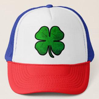 Boné Chapéu afligido dia do trevo de St Patrick do