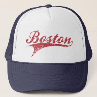 Boné Chapéu afligido vintage da estimativa de Boston
