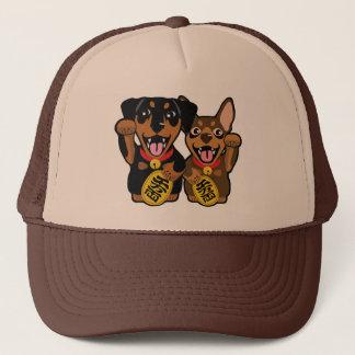 Boné Chapéu afortunado mínimo do proprietário dos cães