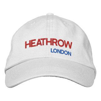 Boné Chapéu ajustável do aeroporto de Londres Heathrow