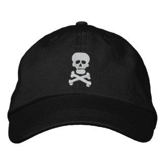 Boné Chapéu ajustável do crânio da rocha
