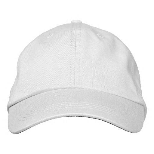 Branco Boné ajustável básica Alternative Apparel Embroidered Hat