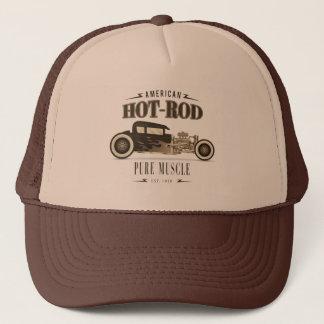 Boné Chapéu americano de CarTrucker do hot rod do