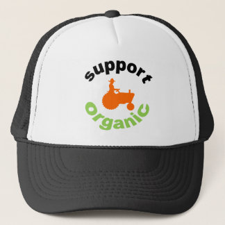 Boné Chapéu, apoio orgânico