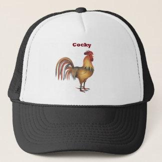 Boné chapéu arrogante