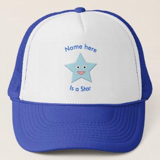 Boné Chapéu azul brilhante da estrela da celebração