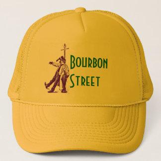 Boné Chapéu bêbedo do estilo Bourbon da rua clássica de