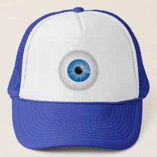 Boné Chapéu Bloodshot azul do globo ocular