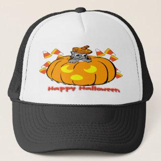 Boné Chapéu bonito da abóbora do Dia das Bruxas do