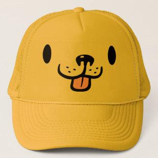 Boné Chapéu bonito do camionista do cão do golden