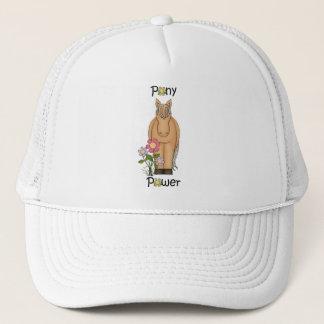 Boné Chapéu bonito do camionista do cavalo do poder do