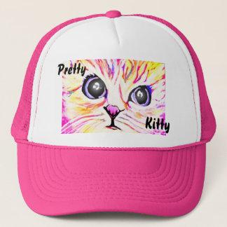 Boné Chapéu bonito do gatinho