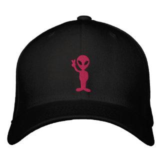 Boné Chapéu bordado alienígena