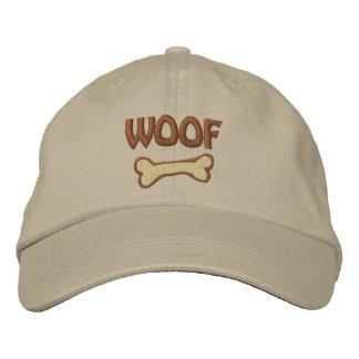 Boné Chapéu bordado amante do cão do WOOF