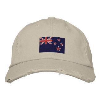 Boné Chapéu bordado bandeira da sarja de Nova Zelândia
