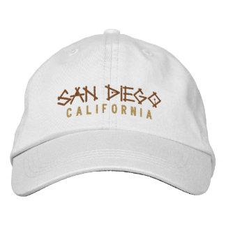 Boné Chapéu bordado Califórnia de San Diego