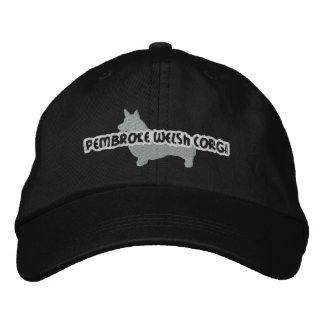 Boné Chapéu bordado Corgi de Galês do Pembroke da