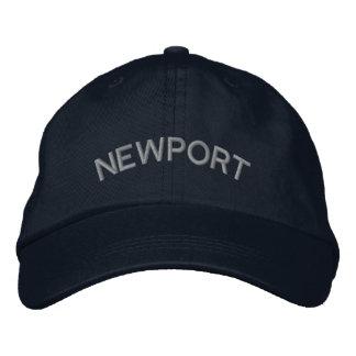 Boné Chapéu bordado costume de Newport