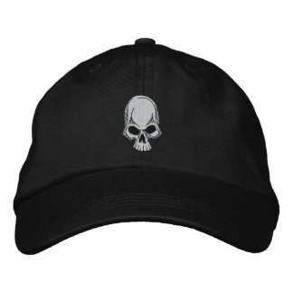 Boné Chapéu bordado crânio