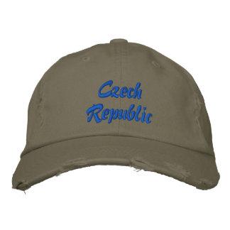 Boné Chapéu bordado da república checa