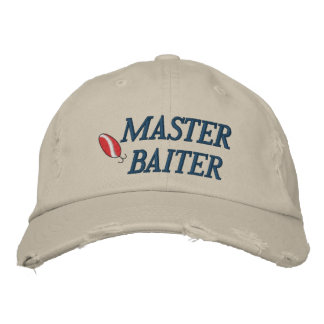 Boné Chapéu bordado de Baiter pesca mestra