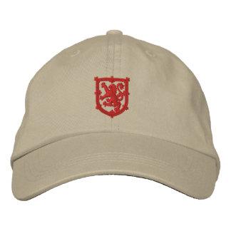Boné Chapéu bordado de Scotland padrão real