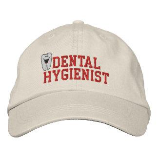 Boné Chapéu bordado do higienista dental