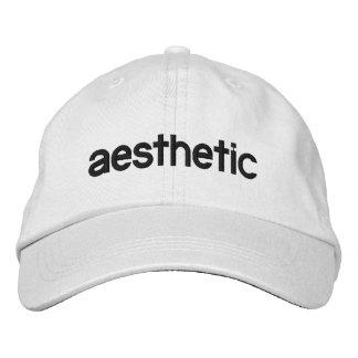 Boné Chapéu bordado estético