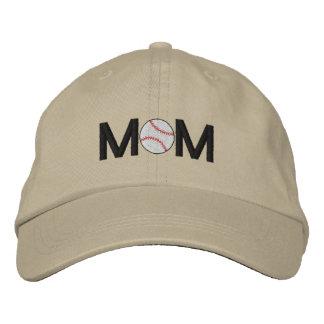 Boné Chapéu bordado mamã do basebol