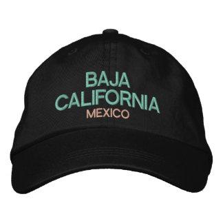 Boné Chapéu bordado México de Baja California